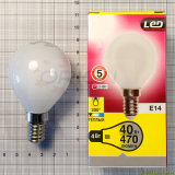 Indicatore luminoso di lampadina economizzatore d'energia della lampada 4W 6W E14 E27 G45 LED