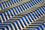 양극 처리된 알루미늄에 의하여 확장되는 금속 메시