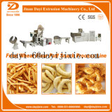 Parafuso Duplo Snack inchado Coxim Extrusor/Milho Snack inchado máquinas de extrusão