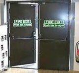 UL Certifiedのアメリカ人StandardとのPrice Steel Fire Doorを下げなさい