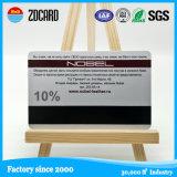 Impresión Offset CR80 plástico 14443 RFID de tarjetas IC de NFC