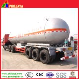 3 подвески 50МУП газа танкер перевозчика Полуприцепе газового баллона