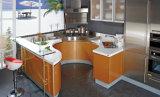 Gabinete de cozinha moderno da laca da alta qualidade 2017 (zz-055)