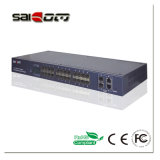 100/1000Mbps Link 2GX+24 FE puertos Ethernet Switch