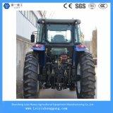 4WD agrícolas Trator Agrícola com rodas multifuncional 155HP