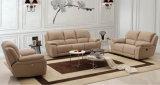 Sofa commercial contemporain plus vendu 1+2+3 (HC682) de Recliner de tissu de salle de séjour