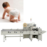 Disposable Baby Diapersのための赤ん坊Diaper Packaging Machine