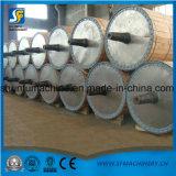 Máquina de fabricación de calidad superior, cadena de producción del papel de la servilleta del tejido de tocador para la planta de papel