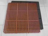 Resistente al ácido Anti-Bacteria Hotel Alfombra de caucho, goma comercial mosaico garaje