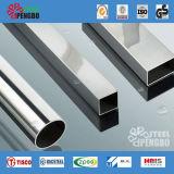 Tubo del quadrato dell'acciaio inossidabile per la decorazione