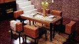 Hotel As medulas/Wicker jogos de jantar cadeira de mesa