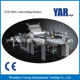 De combi-Vouwende Machine van uitstekende kwaliteit van het zyh780d- Boek met Ce