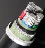 cabo distribuidor de corrente blindado isolado XLPE de fio de aço do condutor 21/35kvaluminum