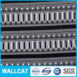100%algodão estilo chinês tecido azul com flores impresso