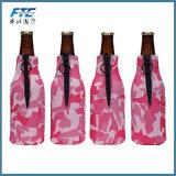 Suporte do engarrafador do refrigerador do frasco de cerveja do neopreno do OEM com abridor de frasco