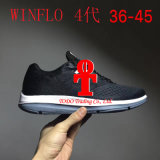 Nuevo Wmns Nlke zoom Winflo de 2017 4 mujeres y zapatos corrientes de los hombres