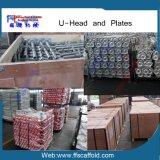 Stahlaufbau-Grundplatte für Baugerüst