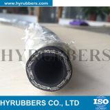 Boyau en caoutchouc du boyau SAE 100 R2at 2sn de pétrole de boyau hydraulique