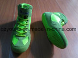 Absoluto Rare Colorway Aduanas Suede Couro Flexível Youth Wrestling Shoes