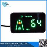 Alerta anticolisión delantera del sistema de alarma del coche con el perseguidor del GPS