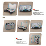 Frete Grátis Slim Foam Waterproof Plastic Fly Fishing Box