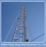 3leged стальной решетке Guyed Telecom антенны в корпусе Tower
