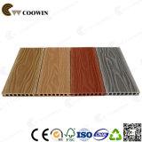 Largura plástica de madeira 150mm da plataforma do composto WPC da grão de madeira misturada da cor 3D