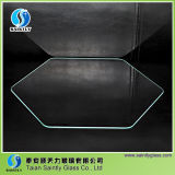 Стекло поплавка крышки света прибора Shandong 3mm