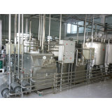 Linea di trasformazione automatica completa del latte UHT 2000L/H