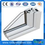 Profili di profilo UPVC del PVC della materia plastica per il profilo di Windows UPVC della stoffa per tendine dei portelli scorrevoli