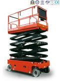 가위로 자르 유형 공중 작업 플래트홈 (유압 모터)