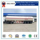 반 50m3 액화천연가스 LPG 가스 수송을%s 액체 탱크 트레일러