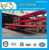 40 piedi 2 assi Skeleton Container Van Semitrailer
