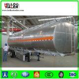 42000 van de Benzine liter Aanhangwagen van de Tanker van de Semi, De Aanhangwagen van de Tanker van de Brandstof van het Aluminium van de Vrachtwagen van de Olietanker voor Verkoop