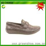 Brilhantes PU calçado Vestuário Tartan Superior