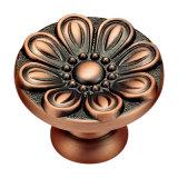 L'oro di alta qualità ha placcato la maniglia d'ottone della mobilia di Foreged