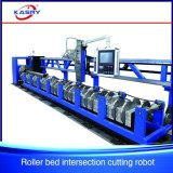 Cortador do plasma da tubulação do CNC e maquinaria redondos de alta velocidade de Beveler