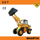 Shantui 3トンのフロント・エンド車輪のローダー