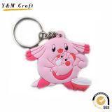 판매 Ym1112를 위한 싼 선전용 단단한 PVC Keychains