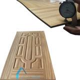 A porta moldada da cor folheado de madeira novo HDF descasc 2150X920X3.2mm