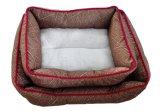 Lits de chien de haute qualité et confort de chien de velours de corail (WY161038A / B)