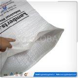 Saco tecido PP do plástico da fábrica 25kg de China para o arroz