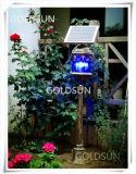 Lampada dell'assassino della zanzara/indicatore luminoso solari, stile europeo, mobile