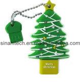 Disques flash USB personnalisés Sina pour les cadeaux d'arbres de Noël