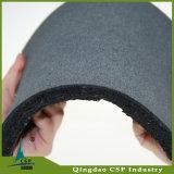 1mx1mx15mm Gummifußboden-Fliese für Gymnastik Weightlift