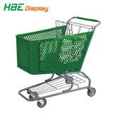 Nouveau supermarché chariot de magasinage en plastique