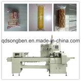 Máquina de embalagem do biscoito de Trayless com arrumação e alimentador