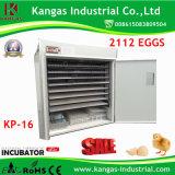 Incubateur automatique largement préféré d'oeufs de poulet de Digitals