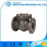 Válvula de retenção Swing de ferro fundido industrial