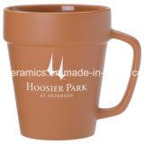 Canecas do vaso da flor, caneca de café cerâmica